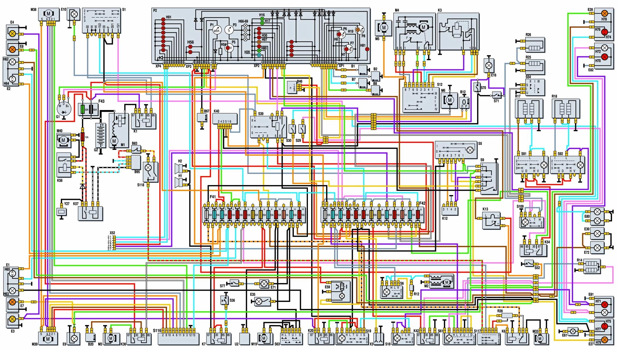 Схема работы газ 3110